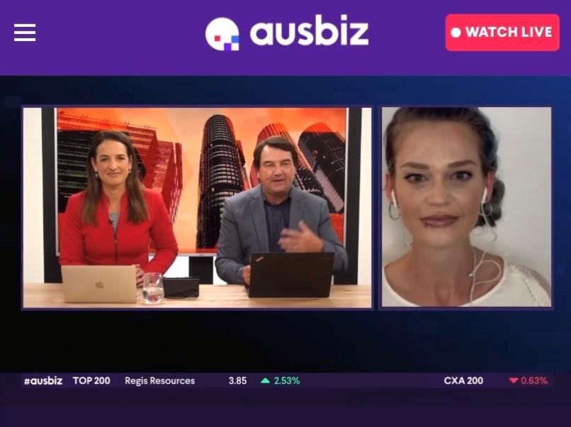 Dwell features on Ausbiz live